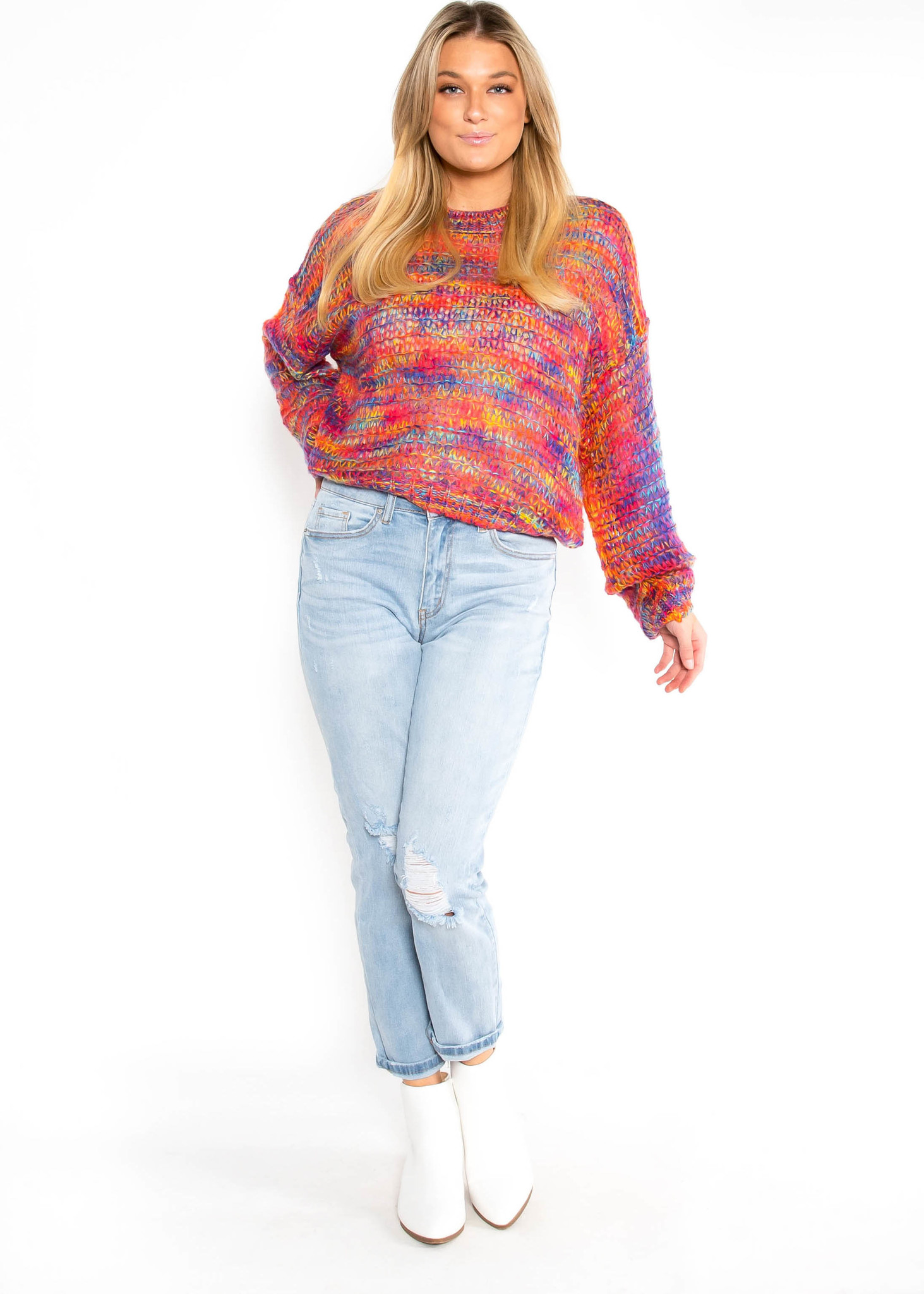 COLOR MY WORLD SWEATER