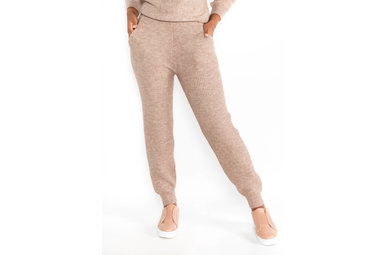 FOOL FOR YOU TAUPE JOGGERS