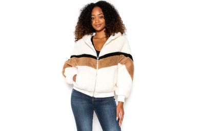 STONE COLD COLOR BLOCK JACKET