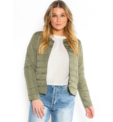 CRISP NIGHTS JACKET - OLIVE