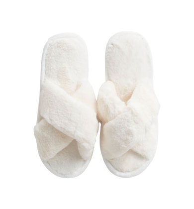 HIGH SPIRITS SLIPPERS - IVORY