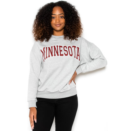 MINNESOTA  SWEATSHIRT - GREY