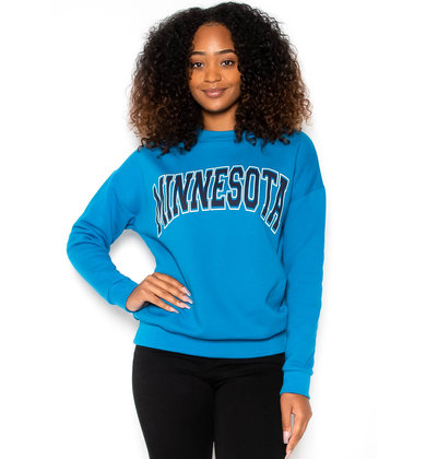 MINNESOTA SWEATSHIRT - TEAL