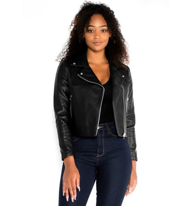 'TIL MIDNIGHT LEATHER JACKET