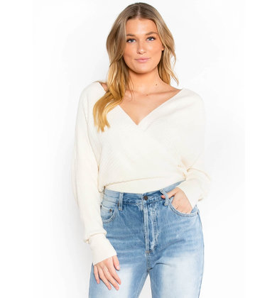 AFTER PARTY IVORY KNIT BODYSUIT