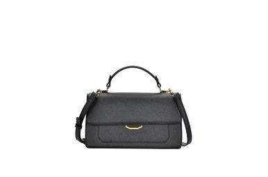 FRANCO BLACK HANDBAG