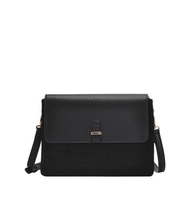 BLACKOUT CROSSBODY PURSE