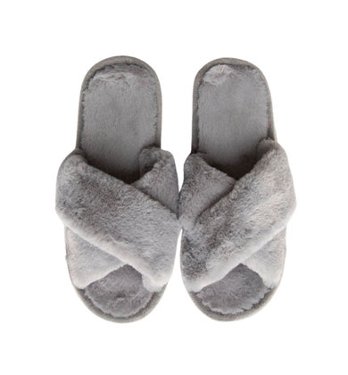 HIGH SPIRITS SLIPPERS - GREY