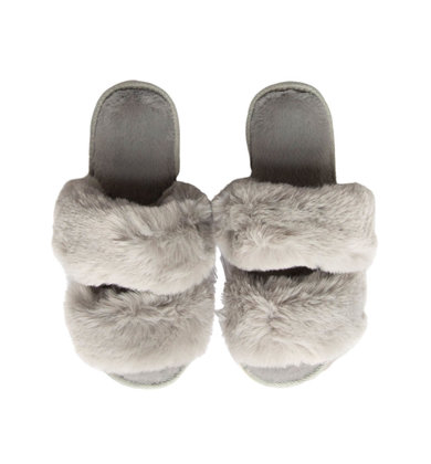 DREAMLAND GREY SLIPPERS