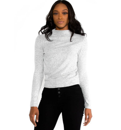 COVER THE BASICS TOP - GREY