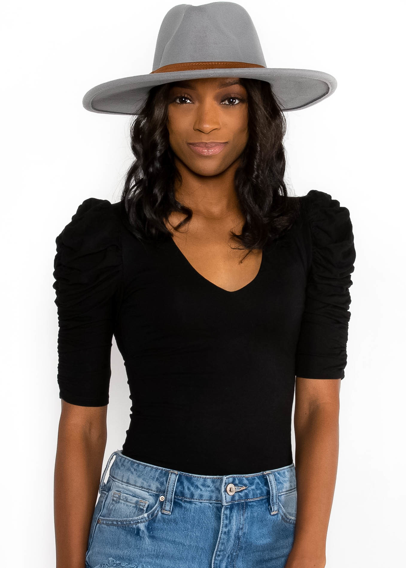 SPELL IT OUT WIDE BRIM HAT