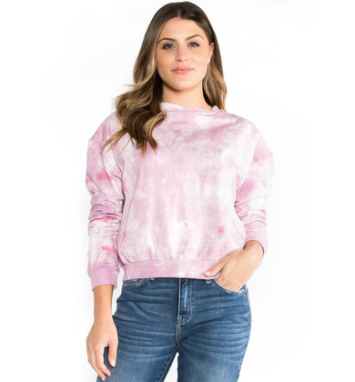 TAKE IT EASY TIE DYE SWEATSHIRT