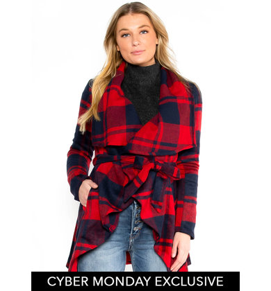 GOOD TIDINGS JACKET - RED