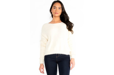 MAIN FOCUS SWEATER - CREAM