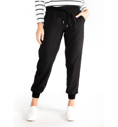 AS IT SEAMS BLACK JOGGERS