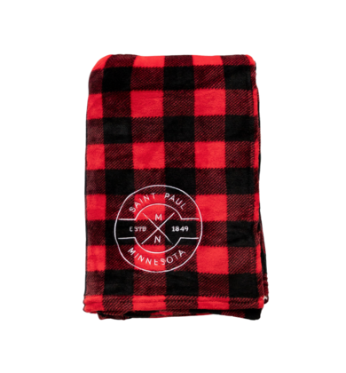 ST. PAUL PLAID BLANKET