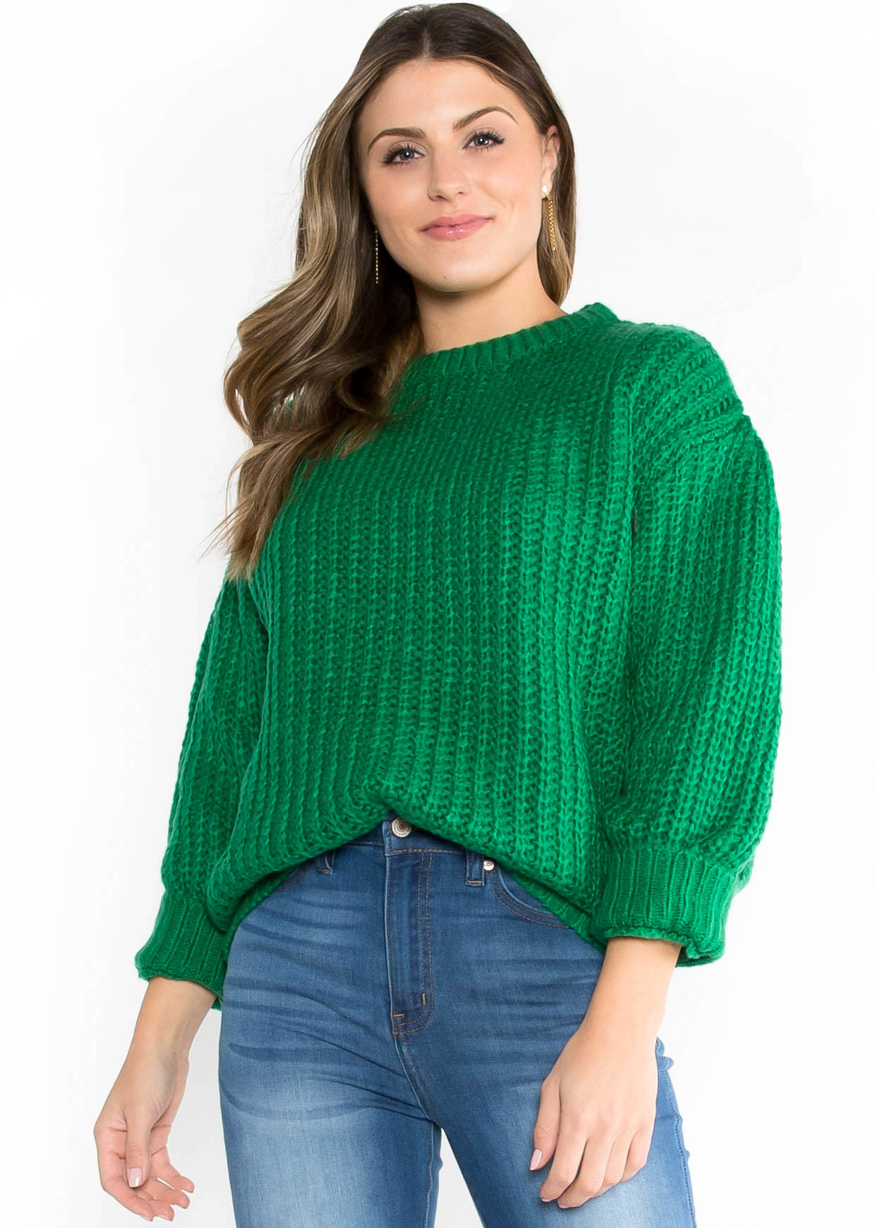 TREE LIGHTING KNIT SWEATER