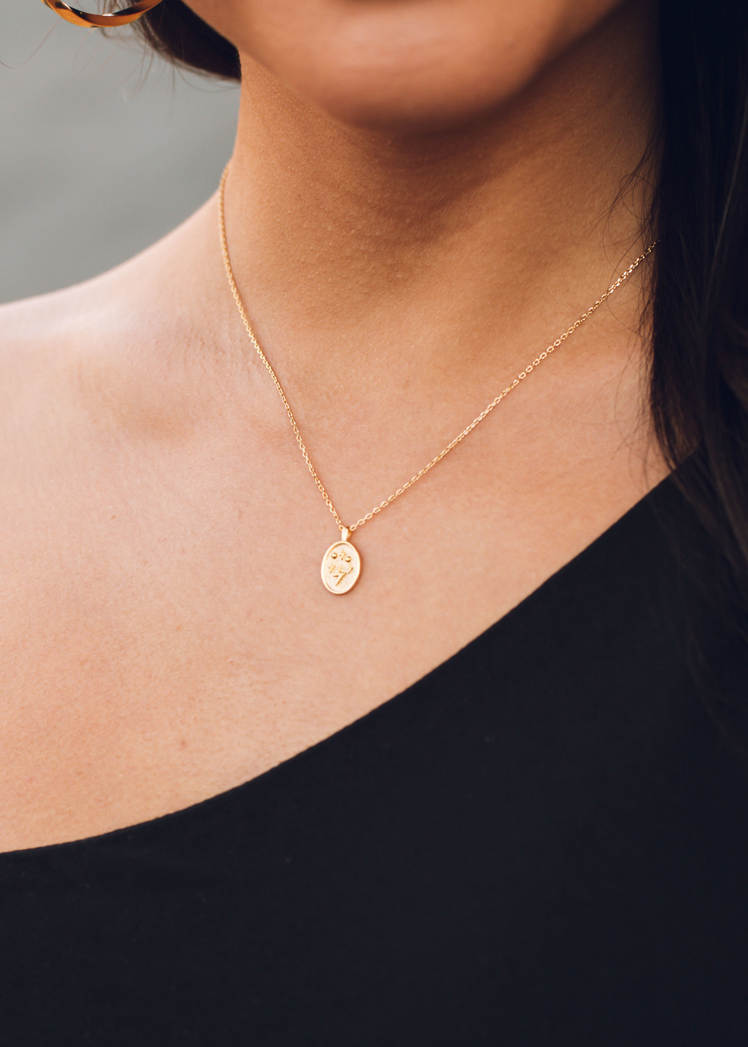 GOLD RUSH DAINTY NECKLACE