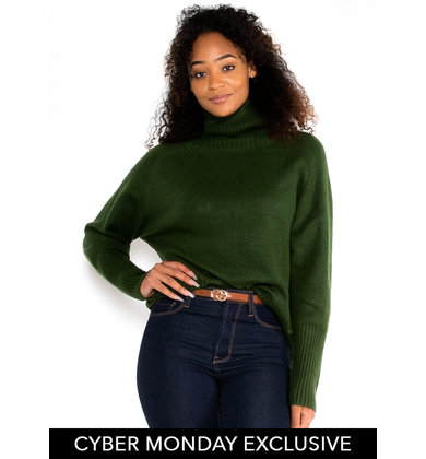 COLD CLIMATE SWEATER - GREEN