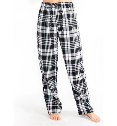 SILVER BELLS PLAID BOTTOMS