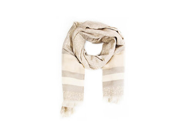 WRAPPED UP SCARF - IVORY
