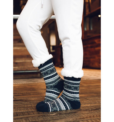 SNOWY SPLENDOR PRINTED SOCKS
