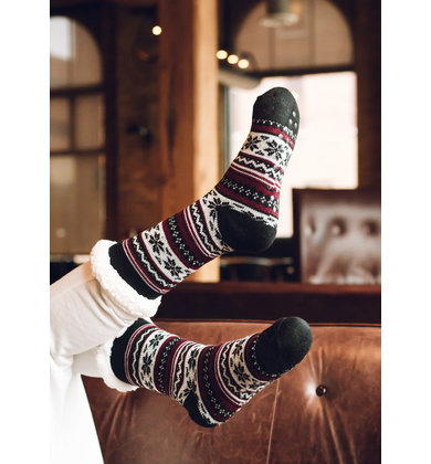 COZY DAZE PRINTED SOCKS
