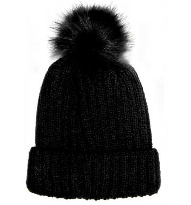 WELCOME THE WINTER POM HAT