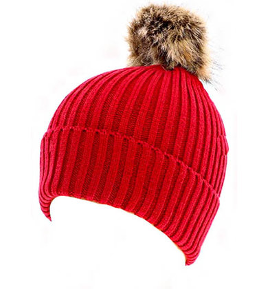 JINGLE BELL ROCK POM HAT