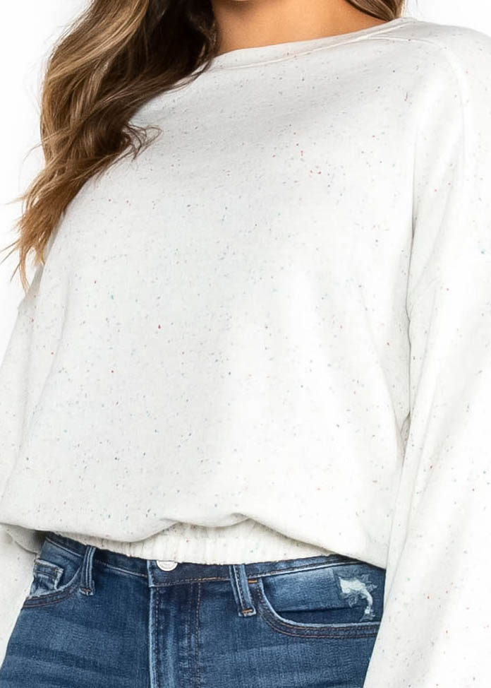 SPREAD CHEER SPECKLED SWEATER