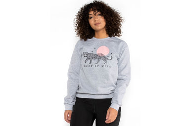 KEEP IT WILD GRAPHIC SWEATSHIRT
