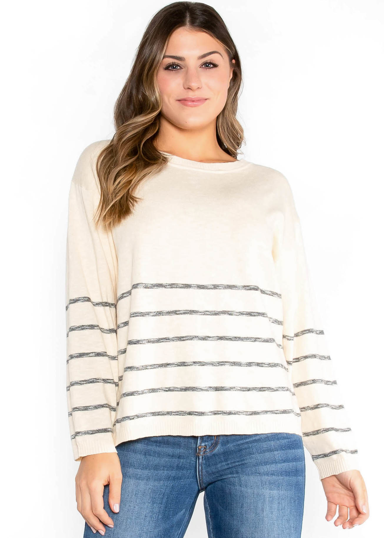 COOL MEADOW STRIPED SWEATER