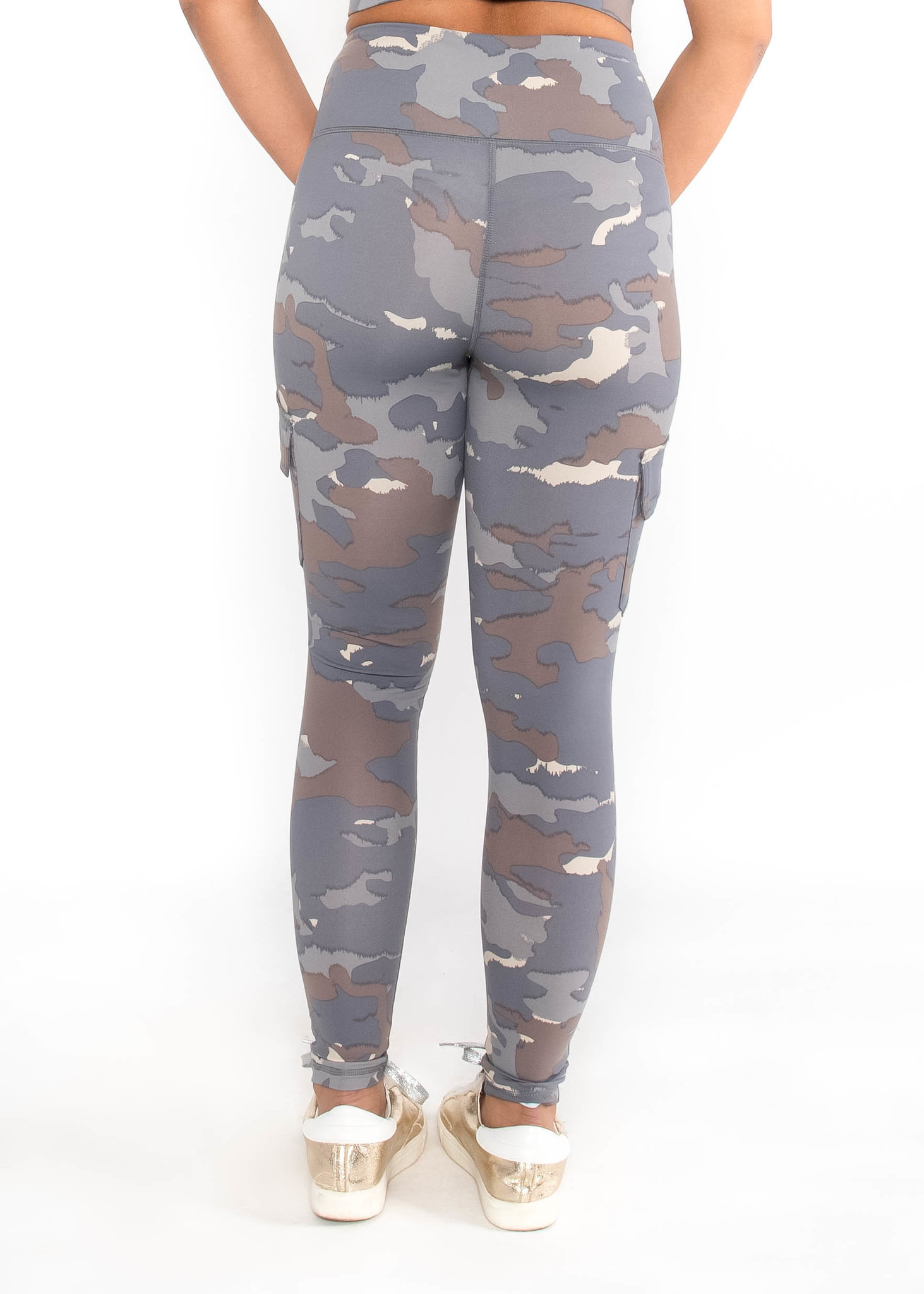 SIDEKICK CAMO PRINT LEGGINGS