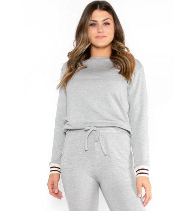 CLOSE TO HOME GREY SWEATSHIRT
