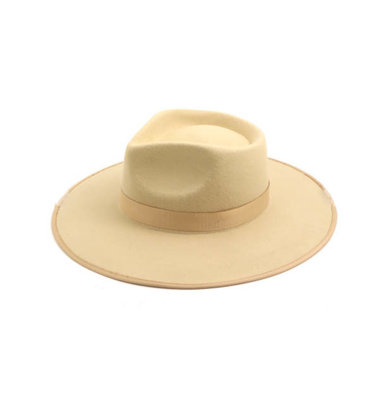 OVER AND OUT WIDE BRIM HAT