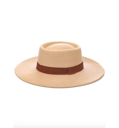 GONDOLA RIDE BEIGE HAT