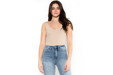PLAY OUR SONG BODYSUIT - BEIGE