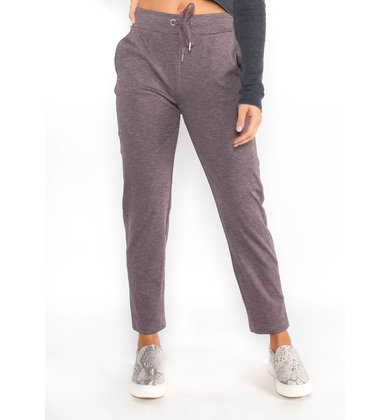 NO EXCUSES JOGGERS - PURPLE