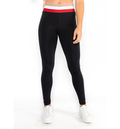 FINISH LINE COLOR BLOCK LEGGINGS