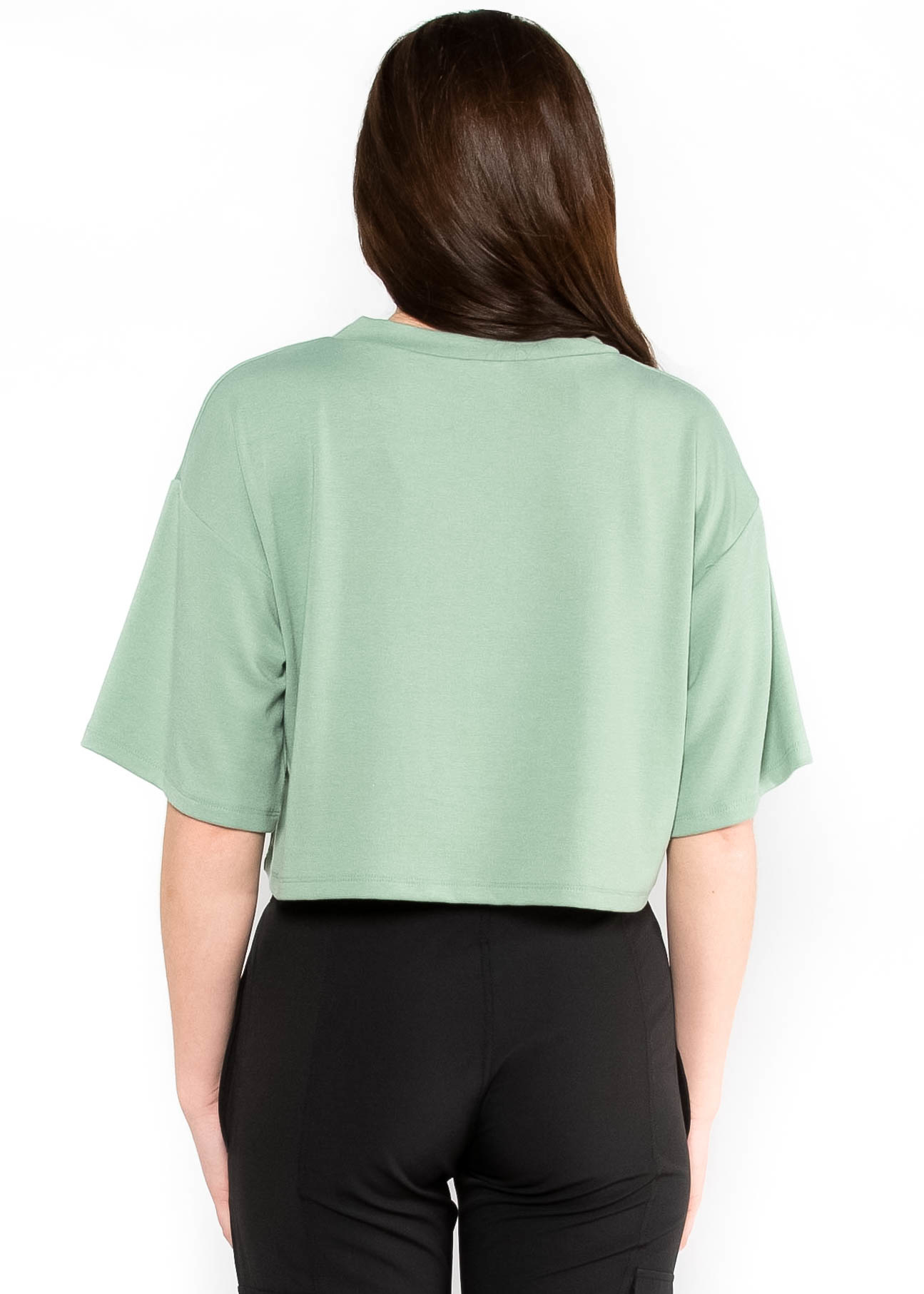 TRAINING DAY CROPPED T-SHIRT