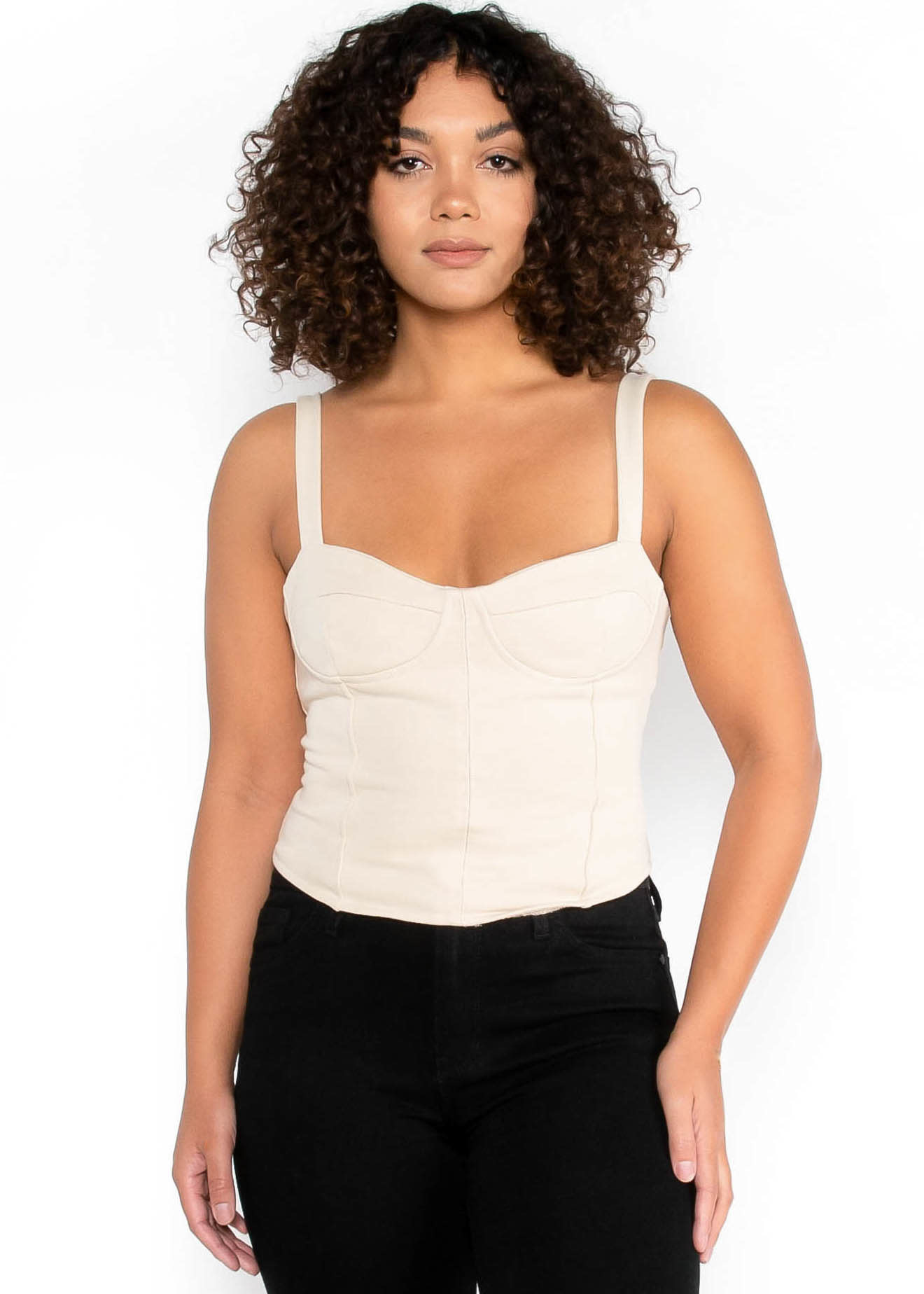 YOUNG SPIRIT TANK TOP - IVORY