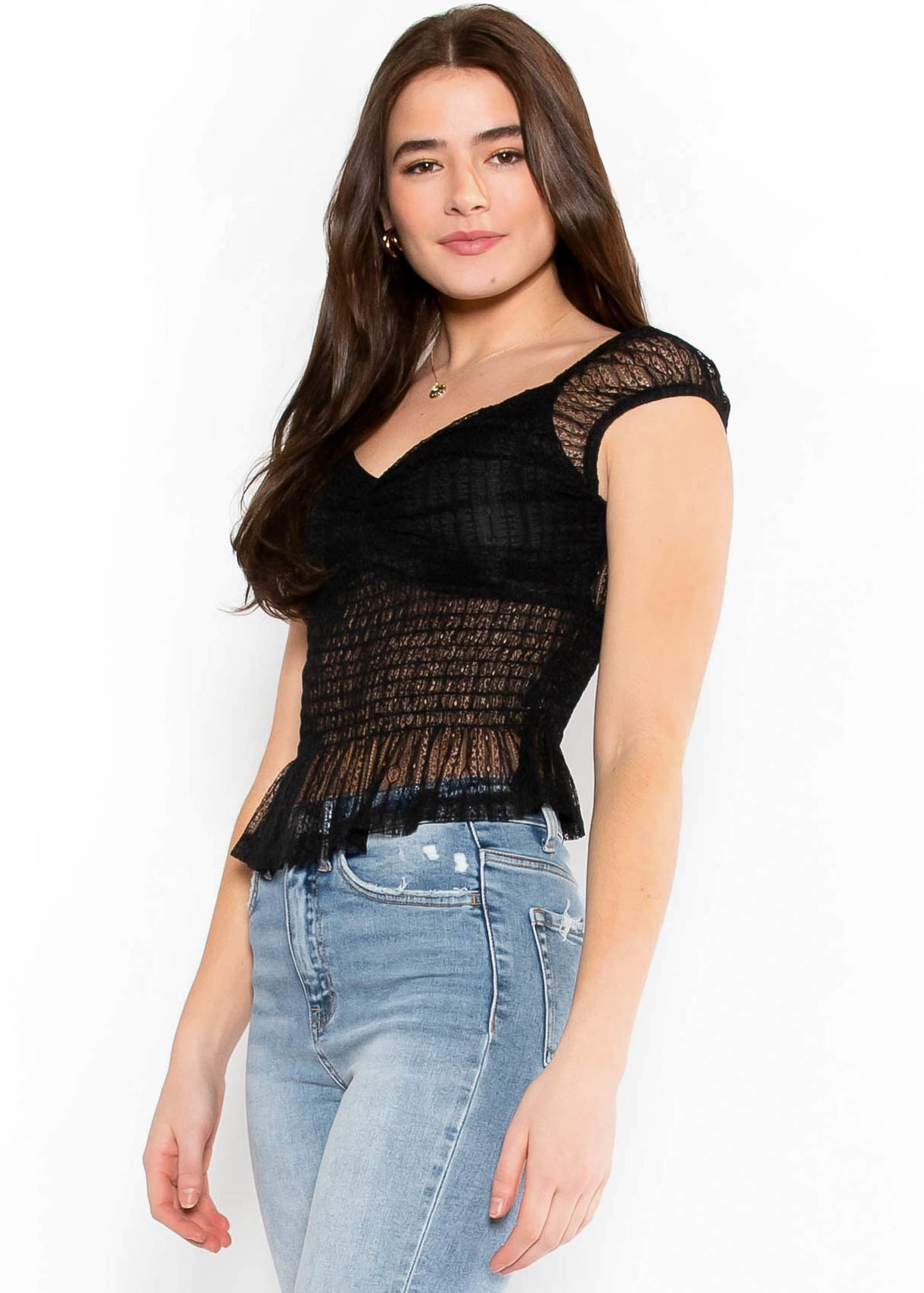 SPARKLE IN HER EYES BLOUSE