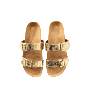 MODERN LIGHT GOLD SLIDES