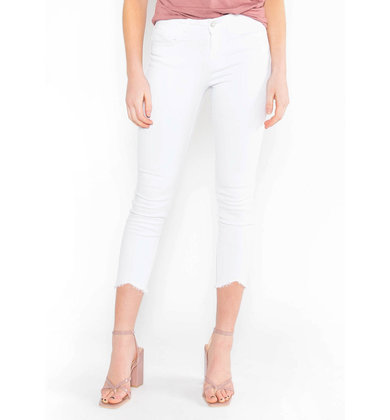 STAY TRUE WHITE SKINNY JEANS