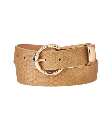 ANNALIESE EMBOSSED BELT