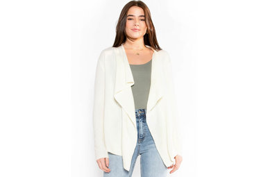 SOUNDS OF LOVE CARDIGAN - IVORY