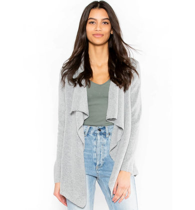 SOUNDS OF LOVE CARDIGAN - GREY