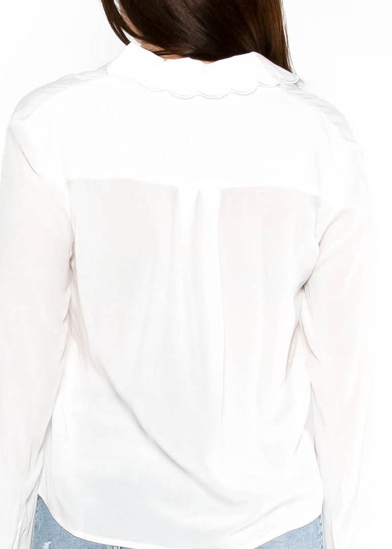 TIME NOT WASTED BLOUSE - IVORY