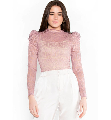 LOVE CONNECTION LACE BODYSUIT