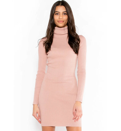 MADE YA BLUSH BODYCON DRESS